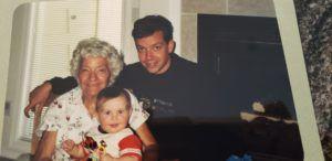 Rich Stuppy and his grandma