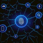 A map of digital identity elements to represent digital identity verification.