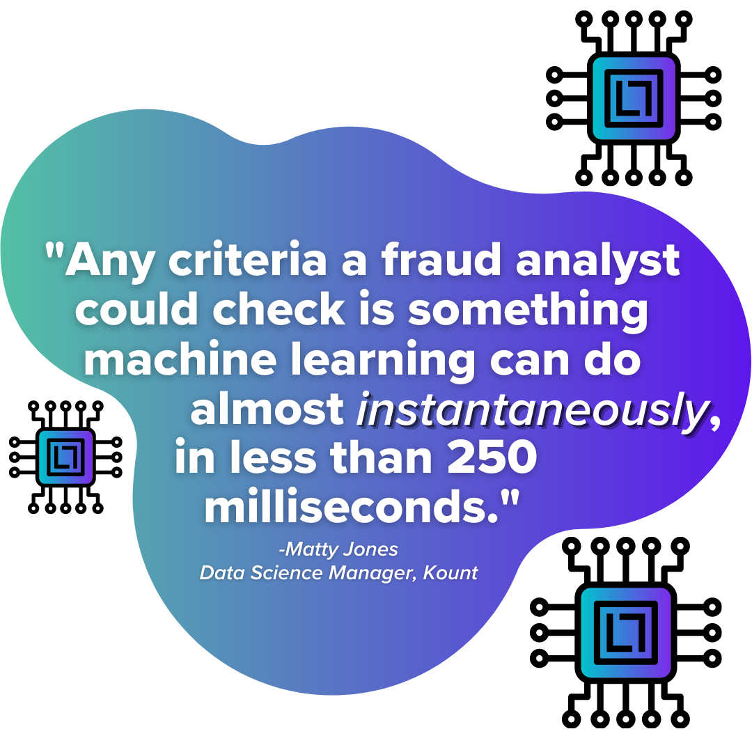 How fast is machine learning fraud detection